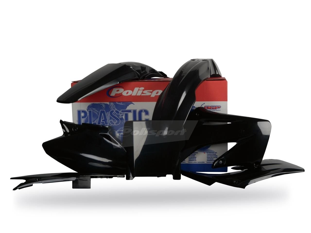 Kit plastique Polisport Honda CR 250R 04-07 noir