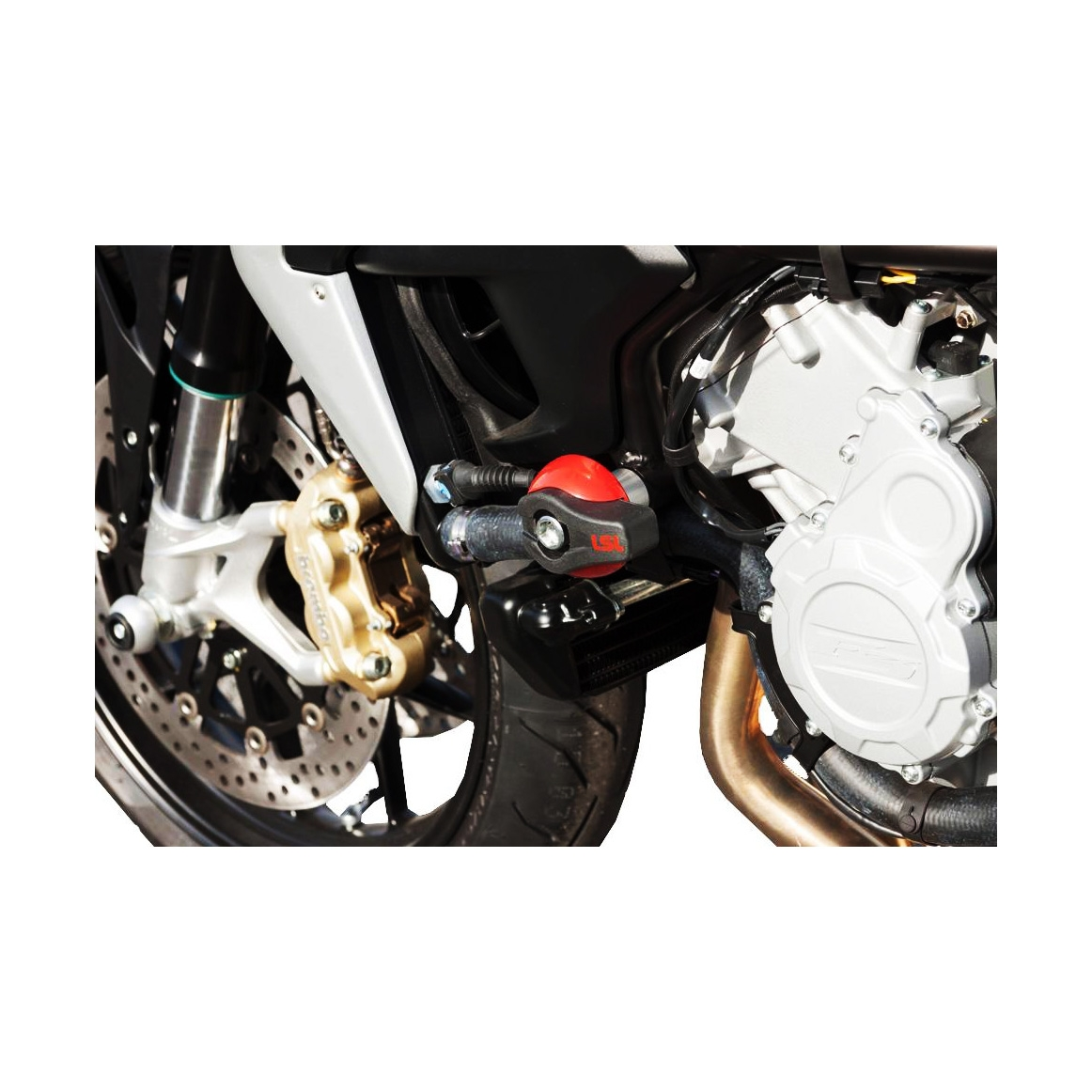 Kit fixation tampon de protection LSL MV Agusta F4 Brutale 750 S 03-05