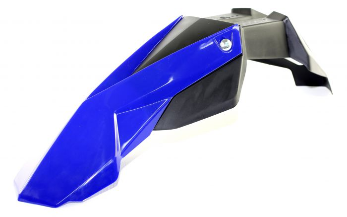 Garde Boue Noend Super Motard Universel Avant Noir/Bleu