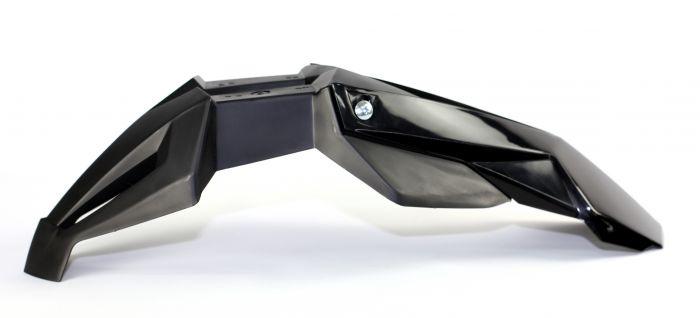 Garde Boue Super Motard Universel Avant Noir