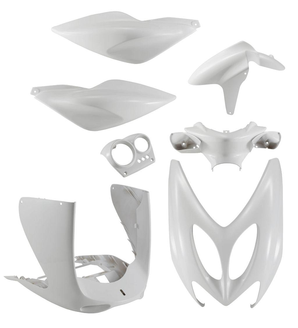 Kit Carénage blanc Nitro, Aerox x7