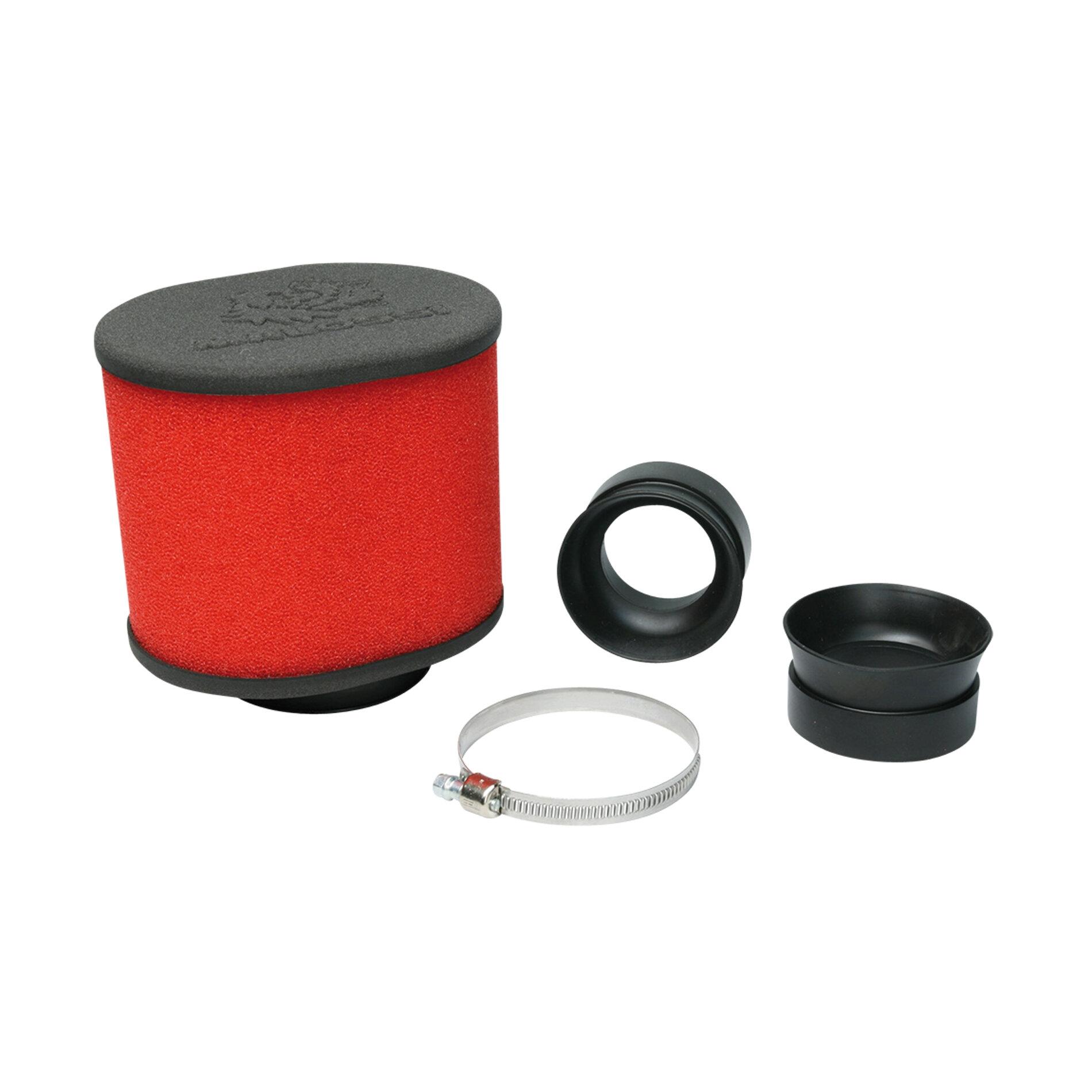 Filtre à air Malossi E15 Red Filter - 42 / 50 mm (adaptateurs)