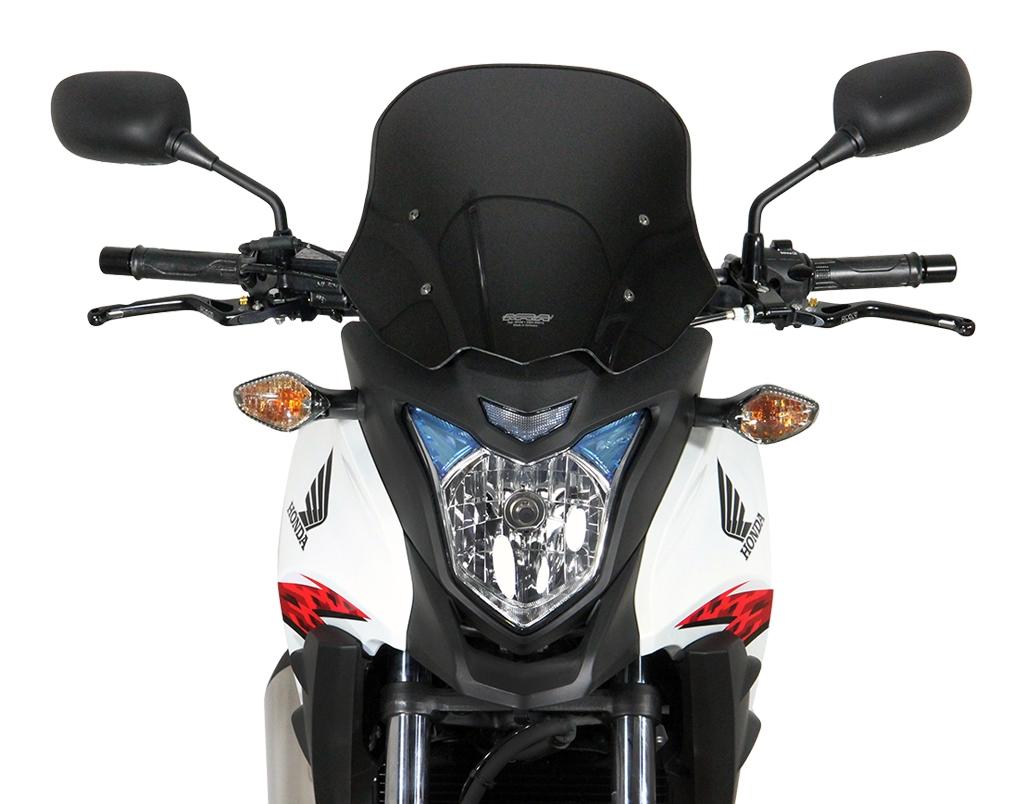 Pare-brise MRA Touring noir Honda CB 500 X 13-15