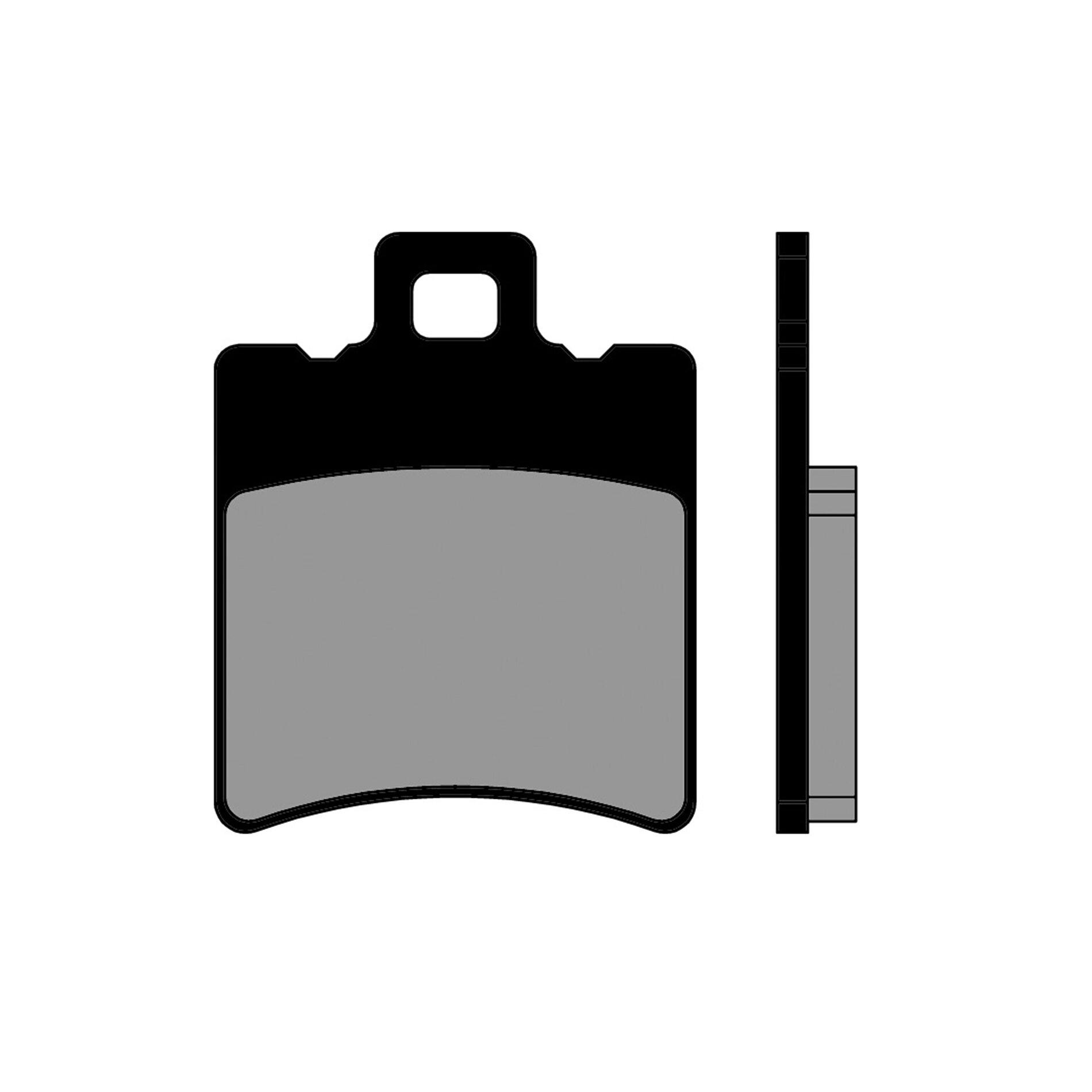 Plaquettes de frein Polini avant Booster/Nitro/SR50/Runner/Stalker/NRG