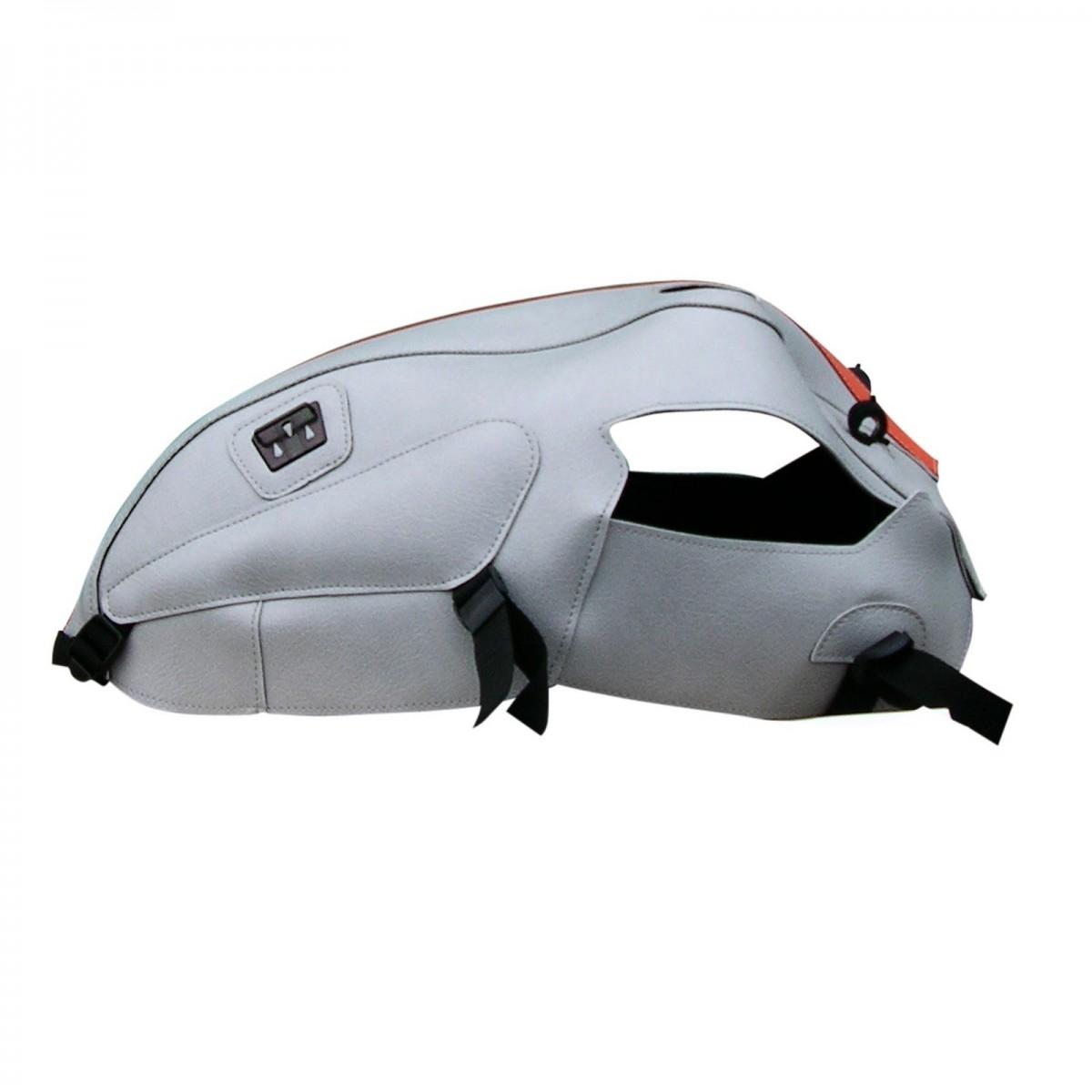 Protège-réservoir Bagster Triumph Thruxton 900 2008 gris clair/bande o