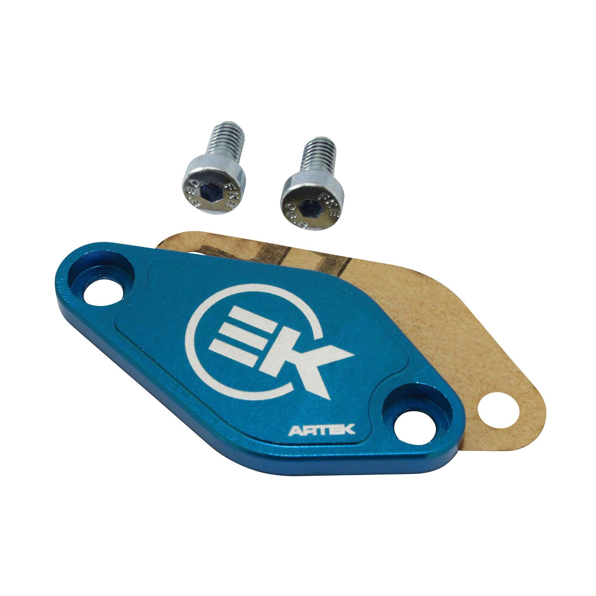 Obturateur pompe a huile Artek Minarelli AM6/Derbi euro 2/3 bleu