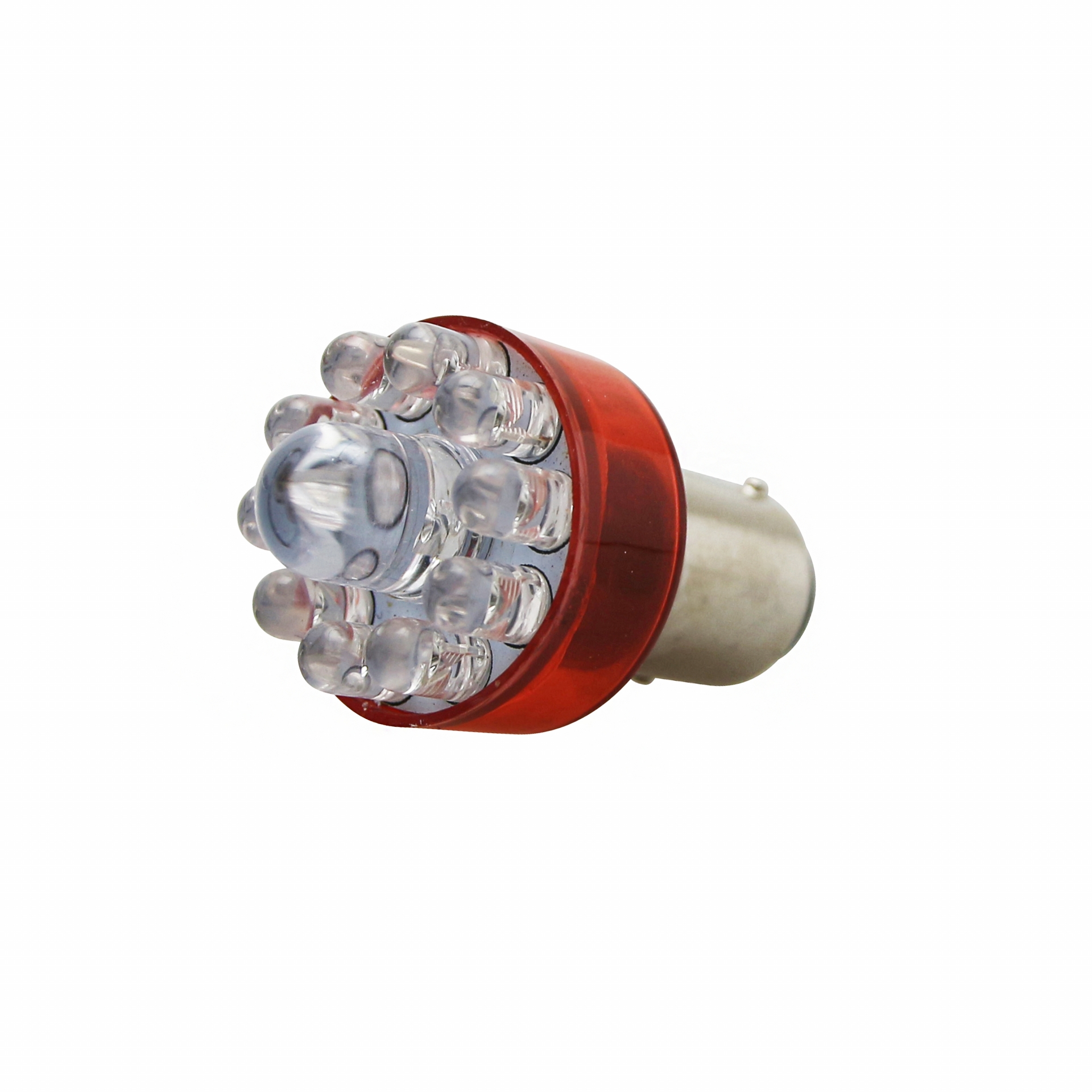 Ampoule Replay BAY15D S25 LEDs 12V 21/5W Rouge