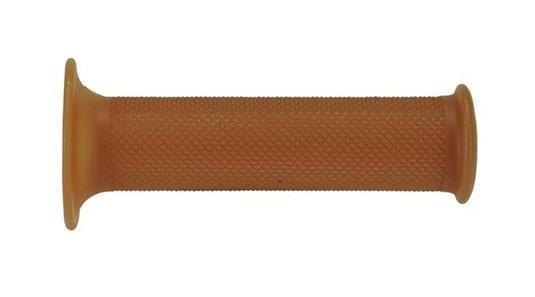 Revêtements de poignées Domino Vintage Cafe Racer brun