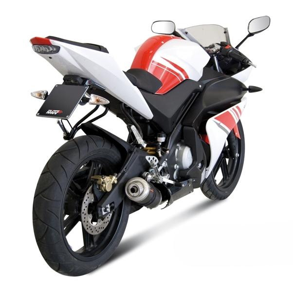 Ligne complète MIVV GP carbone Yamaha YZF-R 125 08-13