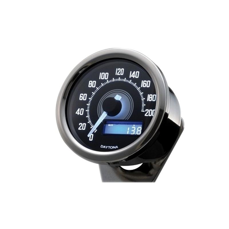 Compteur de vitesse Dayton Velona 200km/h chromé