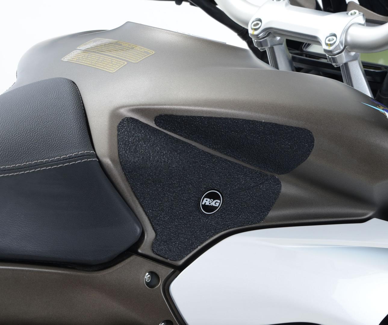 Kit grip de réservoir R&G Racing noir MV Agusta Turismo Veloce 800 15-