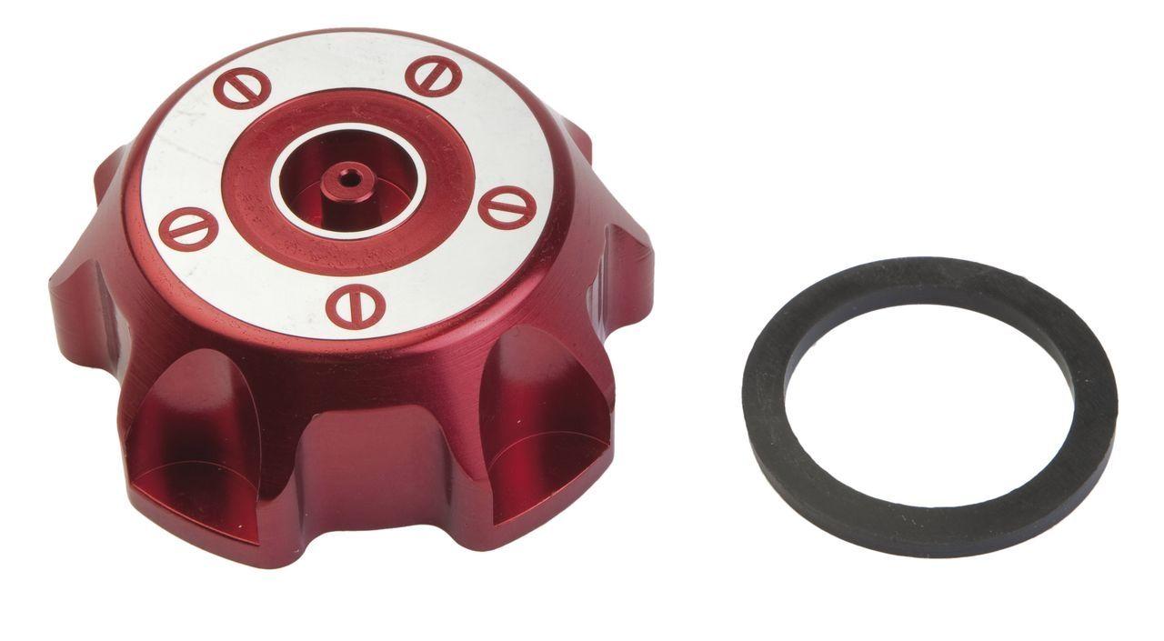 Bouchon de réservoir essence adaptable pour MBK X-Limit 04 - Rouge