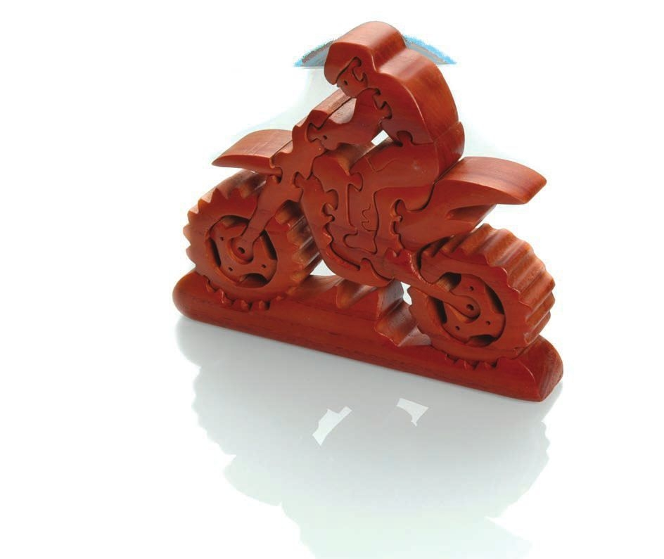 Puzzle Booster Dirt Bike 19cm