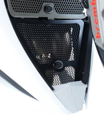 Grille de protection de collecteur R&G Racing noire Honda CBR 1000 RR