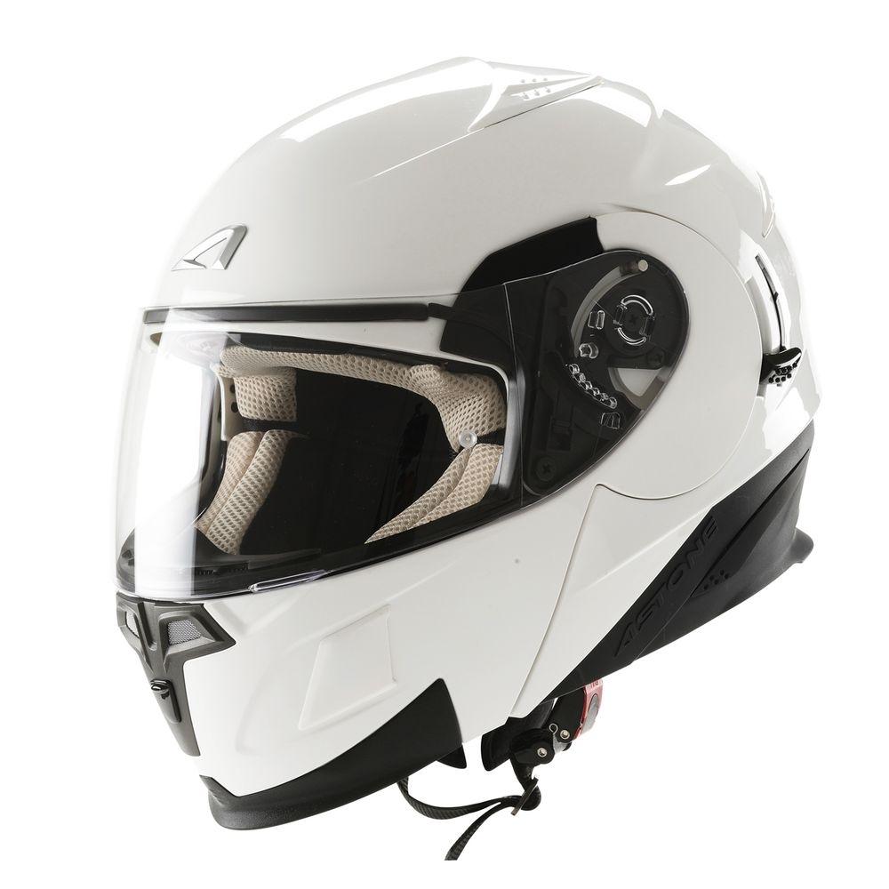 Casque Modulable Astone Rt 1000 Mono blanc - XS