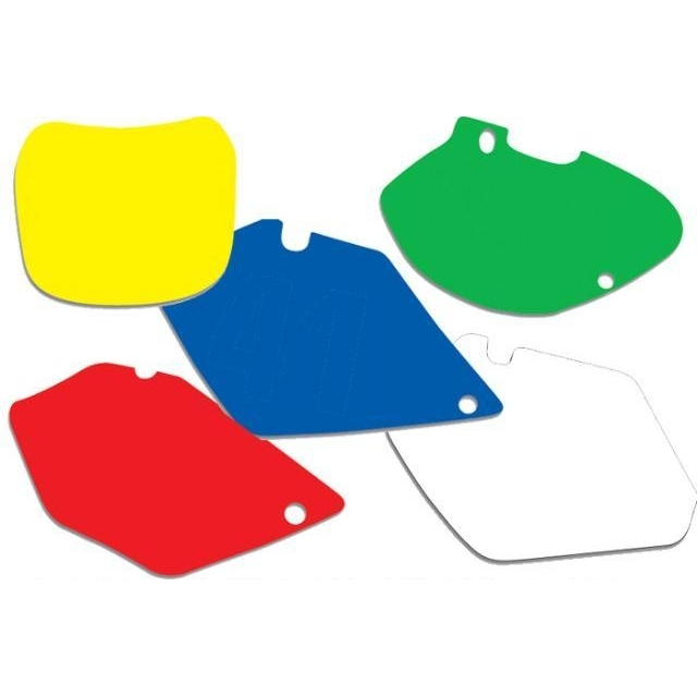 Fonds de plaques Blackbird Sherco 450 SEF 15-16 jaune