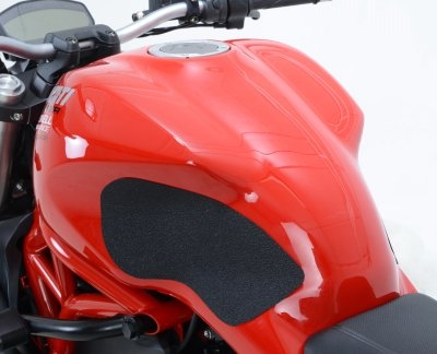 Kit grip de réservoir R&G Racing noir Ducati Monster 1200 17-18