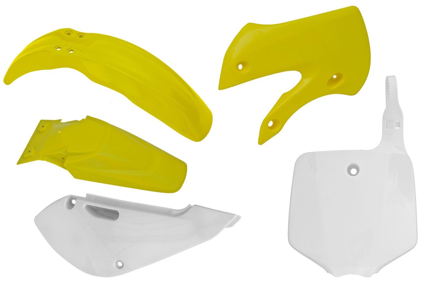 Kit plastique Racetech couleur dorigine pour Suzuki RM 65 03-08