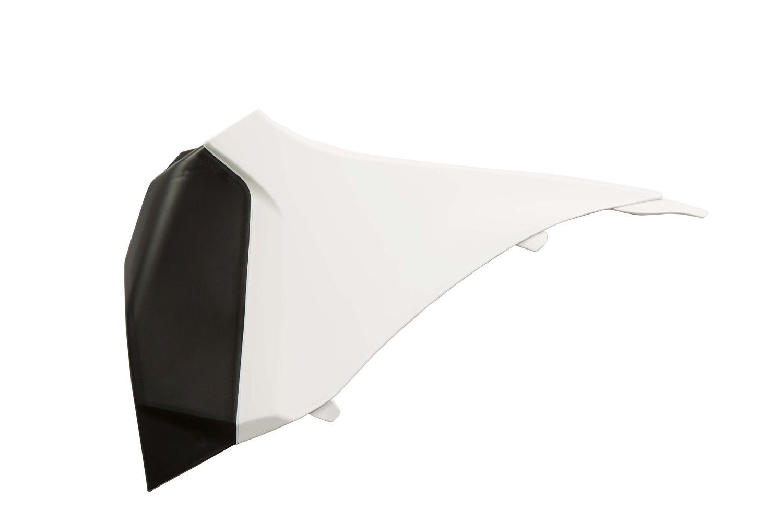 Cache de boîte à air Acerbis KTM 125/150 SX 2011 blanc