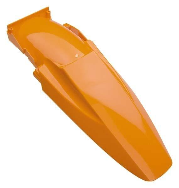 Garde boue arrière Racetech orange pour KTM SX 125 98-03