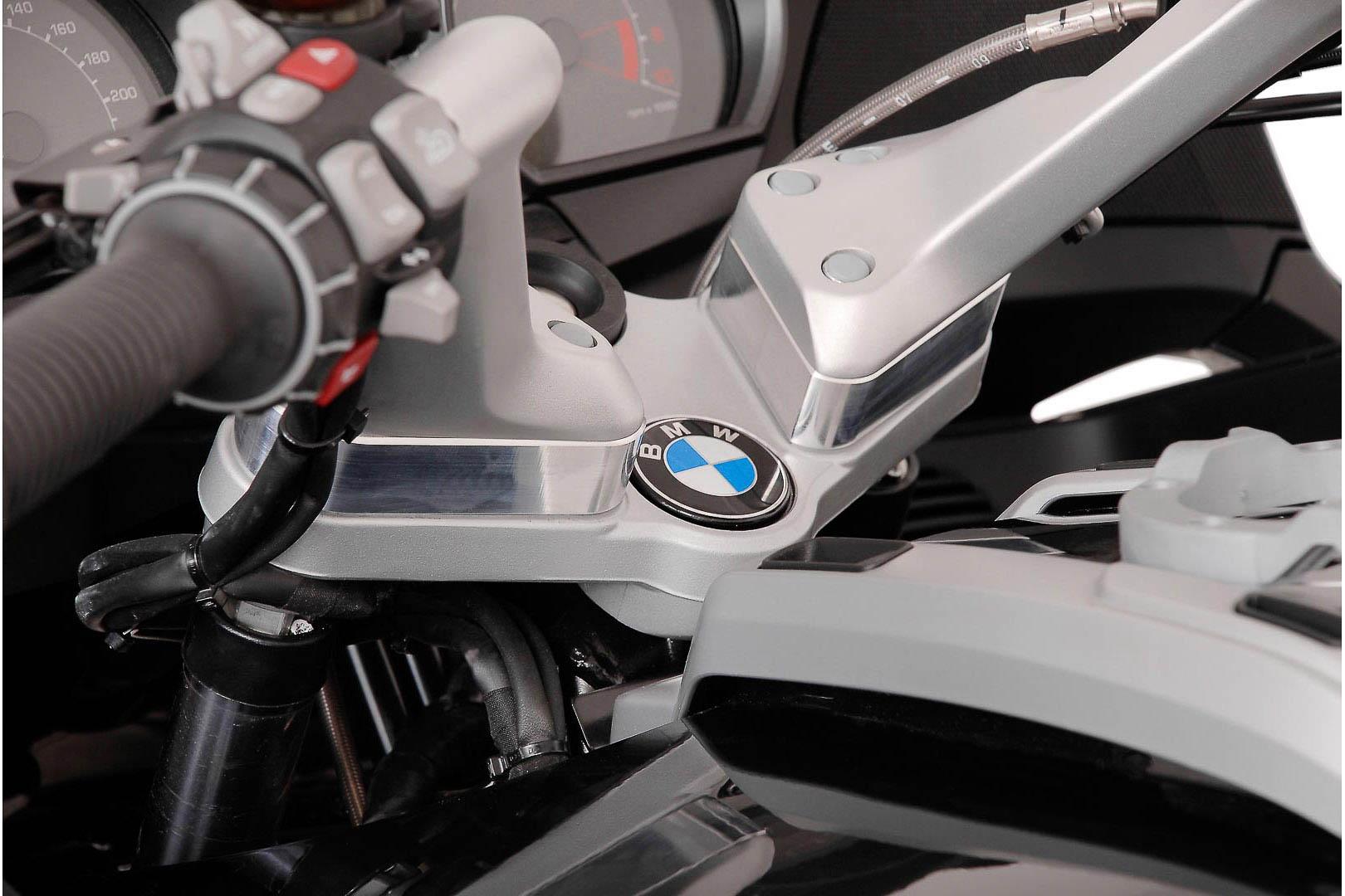 Réhausse de guidon SW-MOTECH H:25 mm gris BMW R 1200 RT 05-