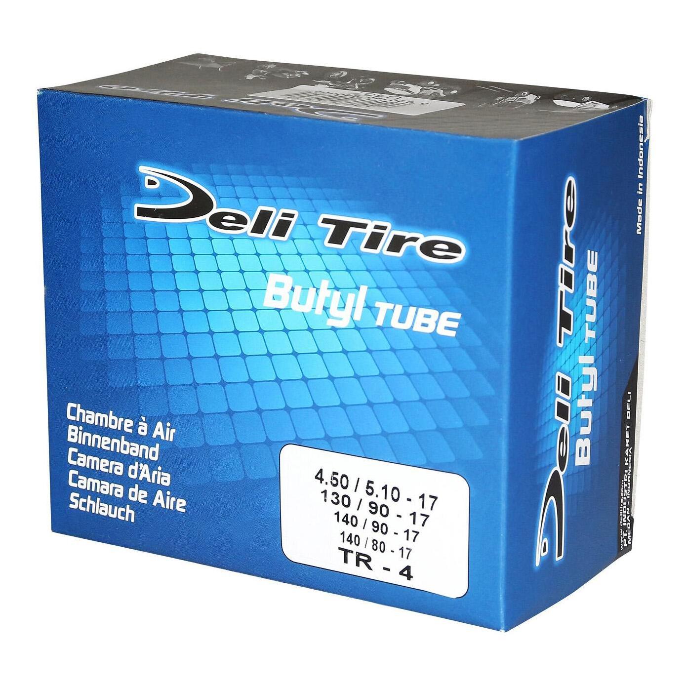 Chambre à air 17'' Deli valve tr4