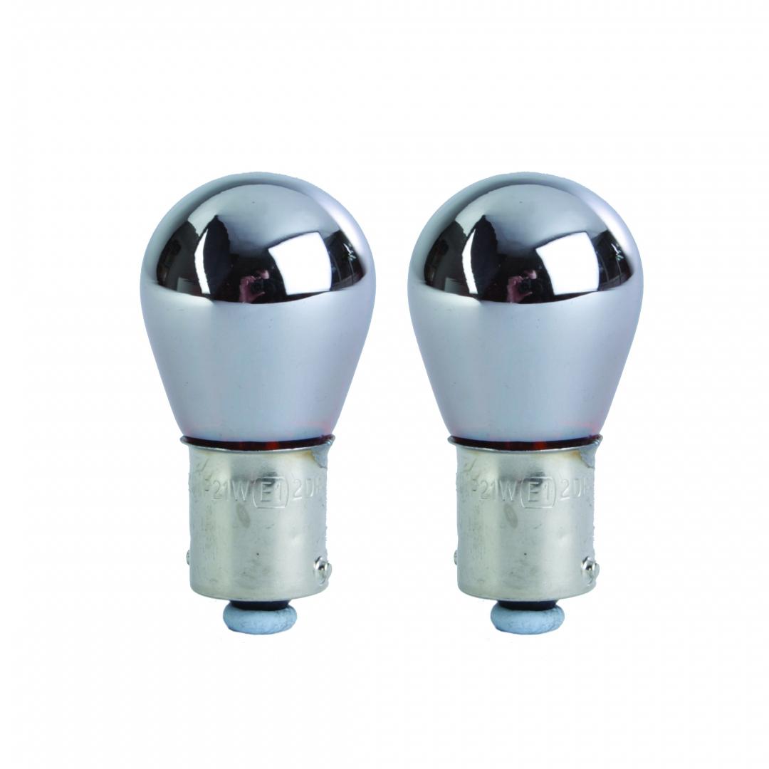 Ampoules BAU15S Chromé 12v x 21w