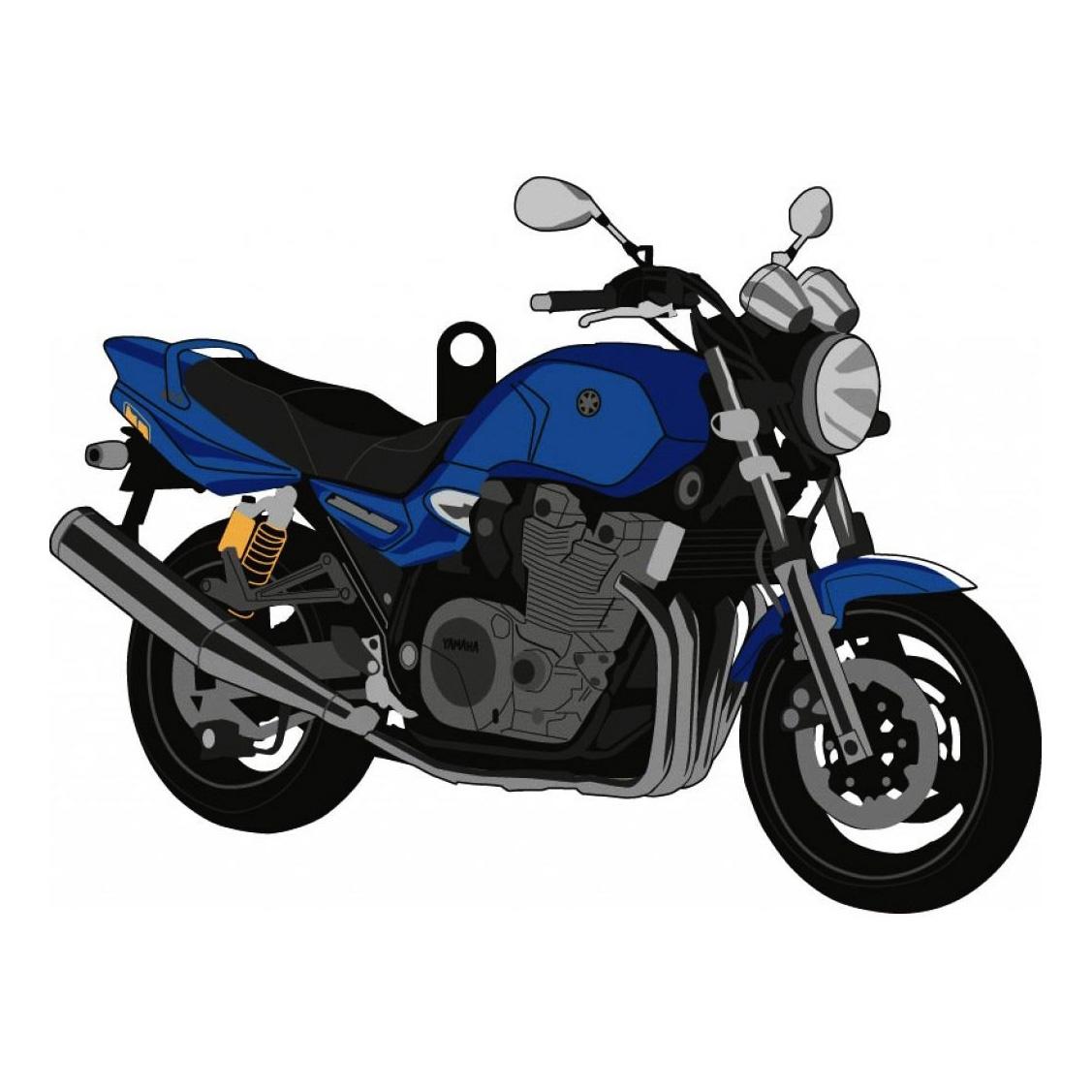 Porte clés Yamaha XJR 1300