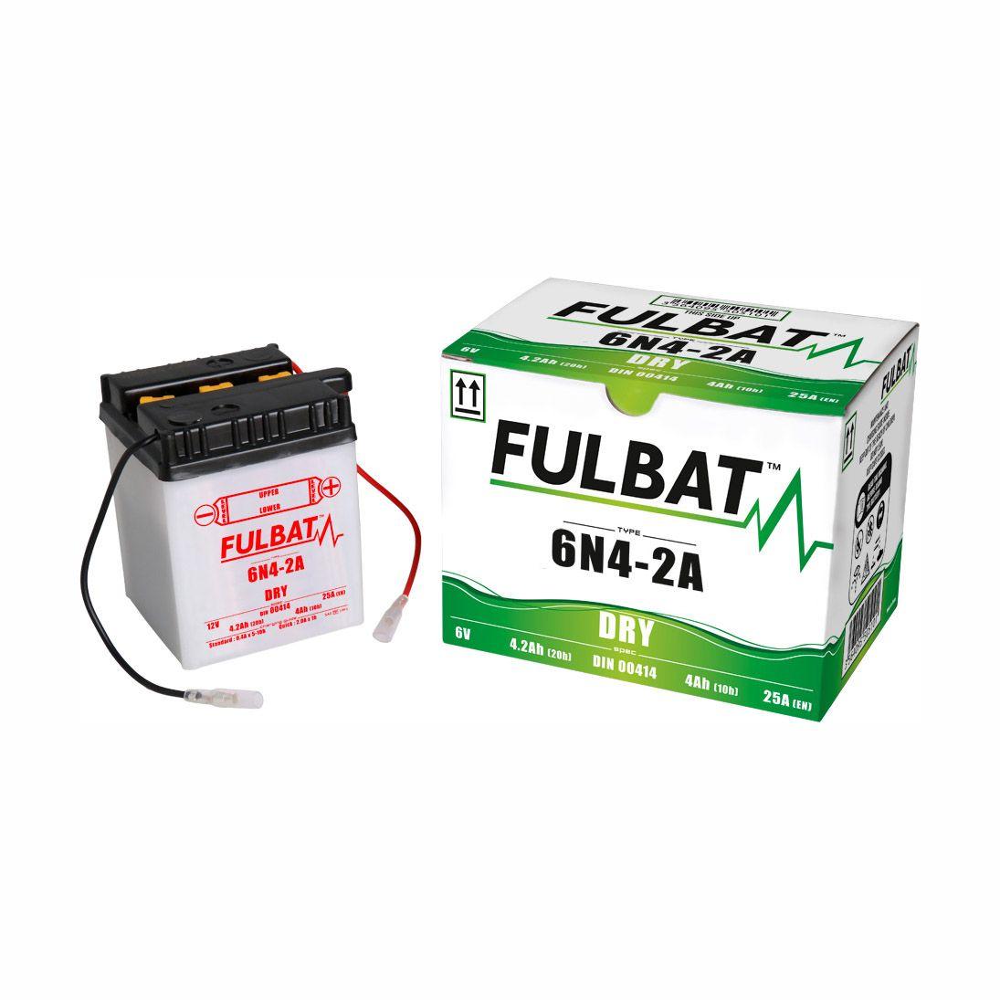 Batterie Fulbat 6N4-2A 6V 4Ah