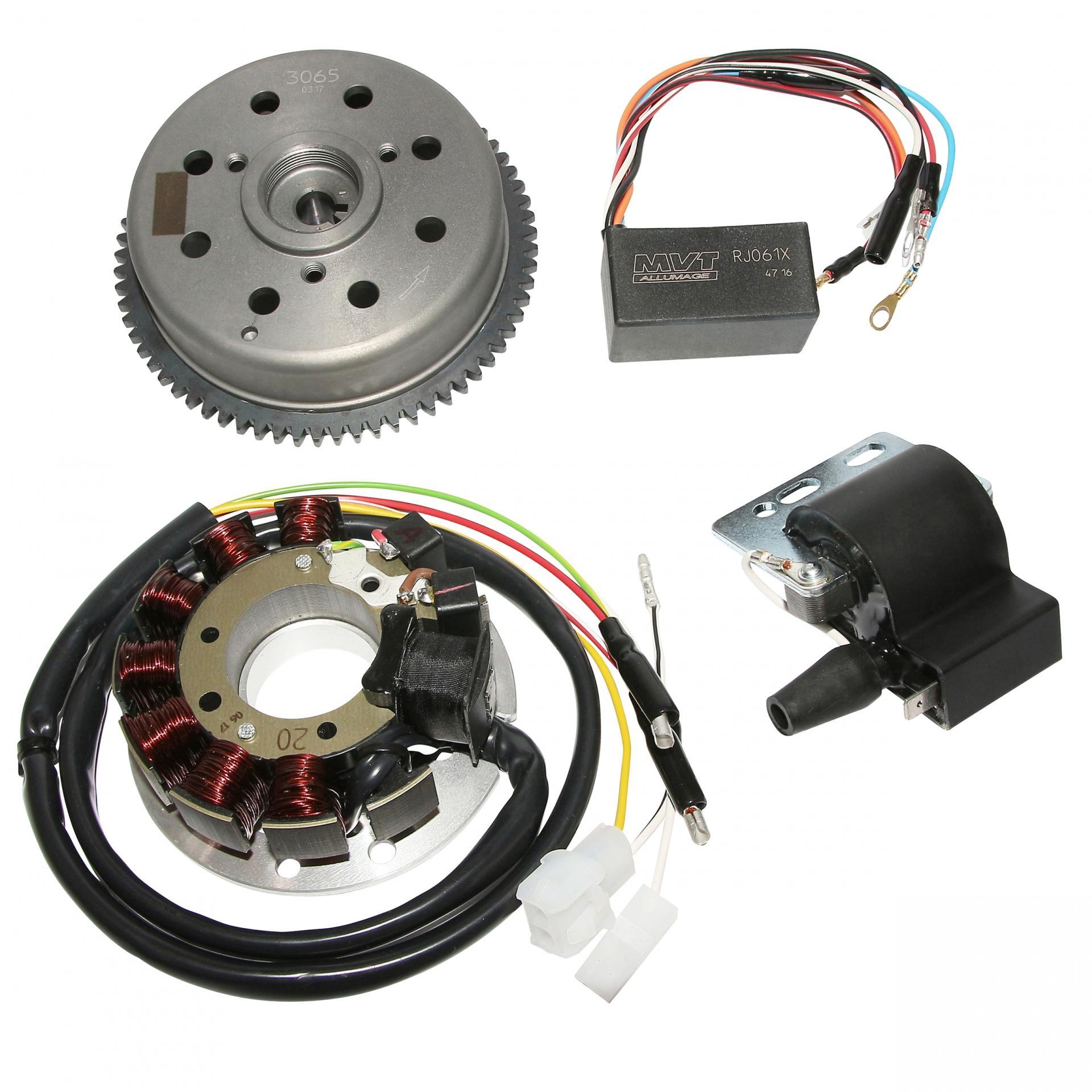 Allumage analogique rotor externe KRD Derbi GPR