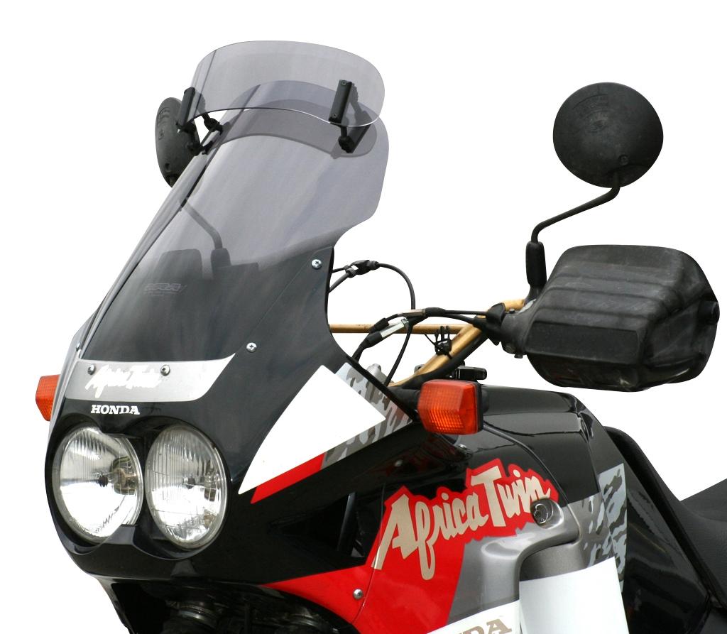 Pare-brise MRA Vario Touring fumé Honda XRV 750 Africa Twin 90-92