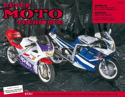 Revue Moto Technique 80.2 Aprilia 125 AF1 89-91 / Suzuki GSX-R 1100 19