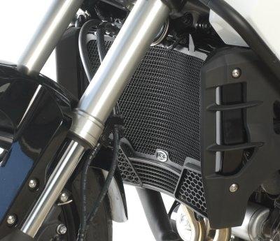 Protection de radiateur noire R&G Racing Honda VFR 1200 X Crosstourer