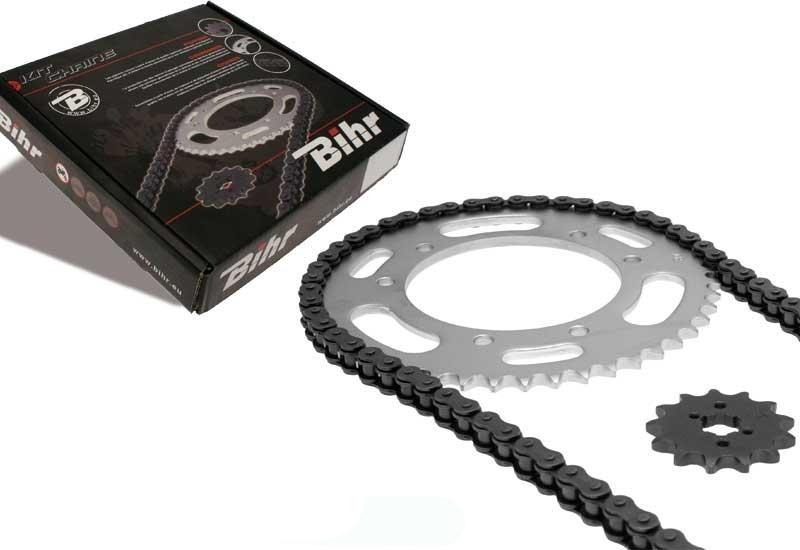 Kit chaîne adaptable pour MBK X-power 50 00-02