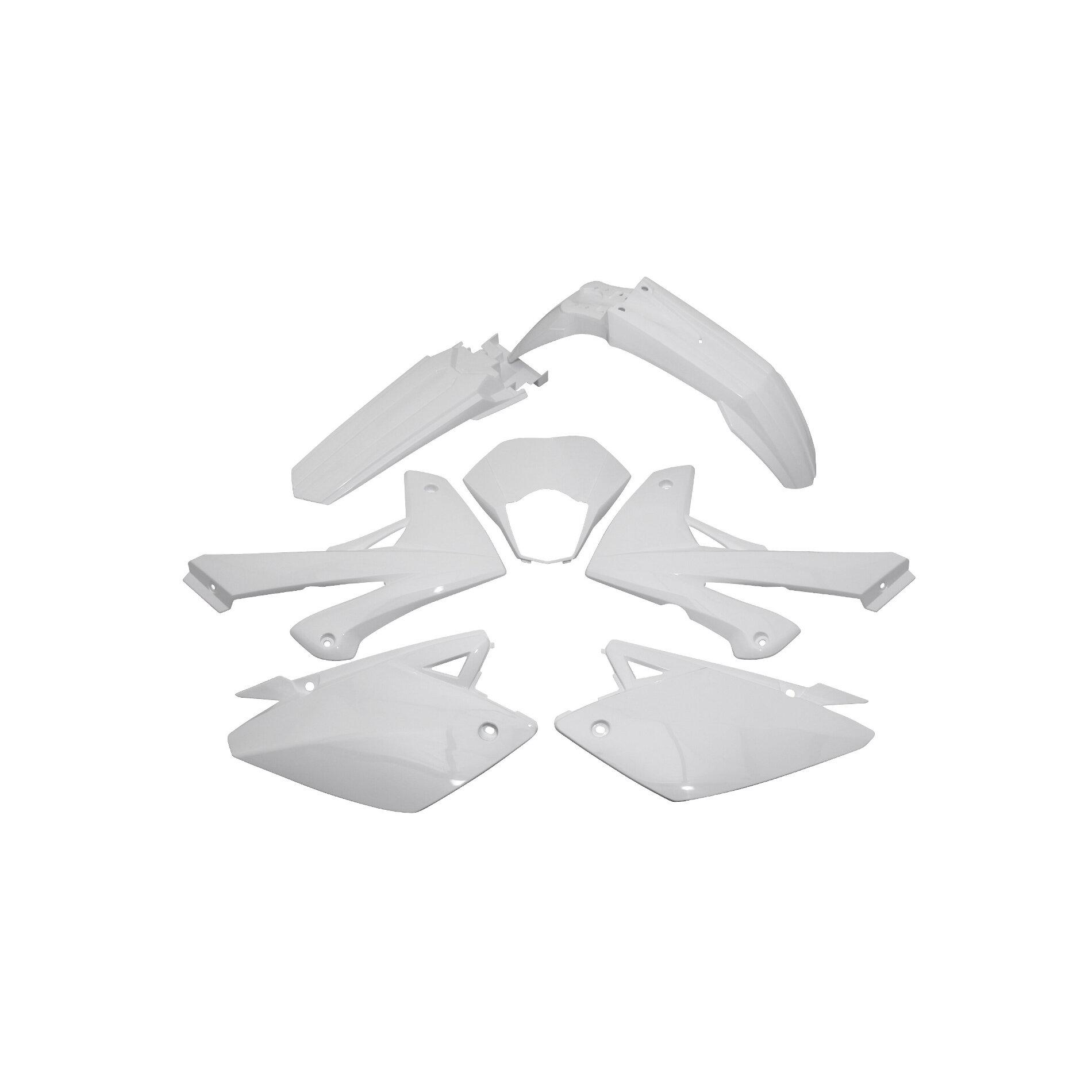 Kit carénage Rieju 50 MRT / MRT Pro 09- blanc brillant