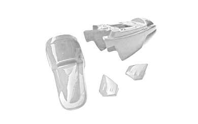 Kit plastiques ART blanc pour Yamaha PW 50