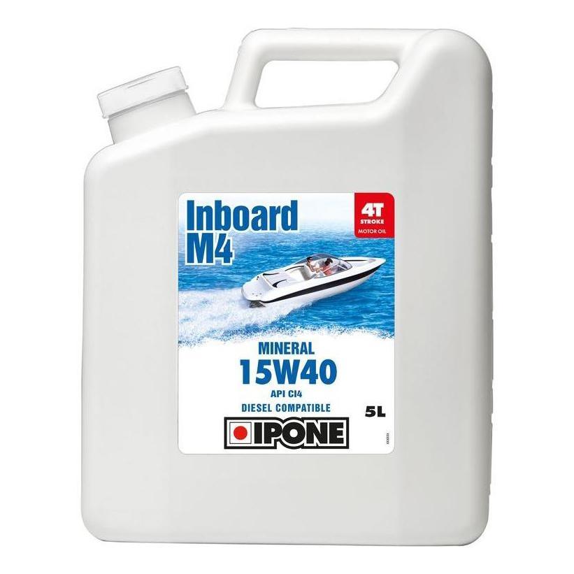 Huile moteur 4T Ipone M4 Inboard 15W40 5L