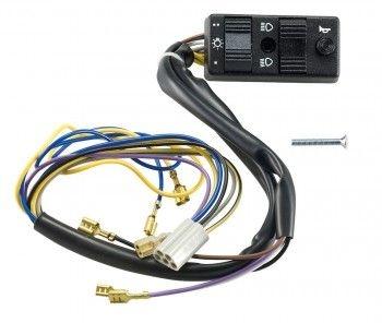 Commutateur de feux C4 pour Vespa PK 125 2T 82-84 sans démarreur élect