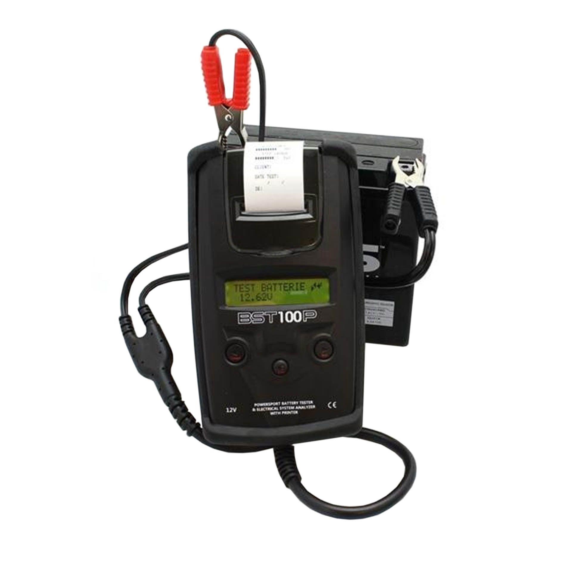 Testeur de batterie et analyseur systeme electrique bs bst100p