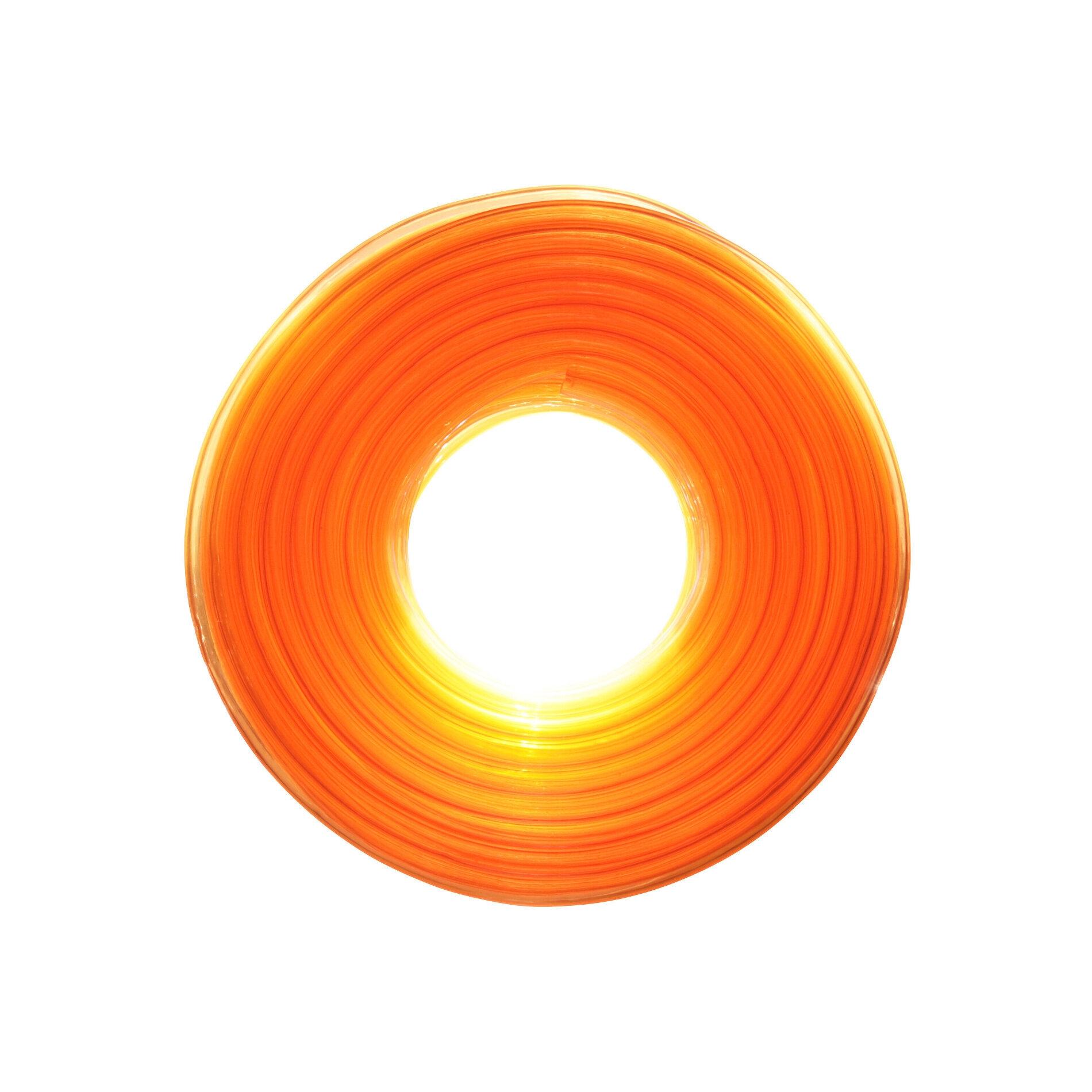 Durite essence Replay 5x9 transparent orange 20m