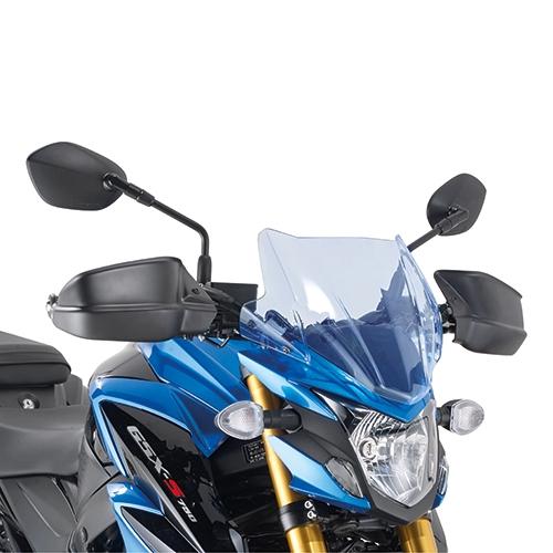 Protège-mains Kappa Suzuki 750 GSX-S 17-18 noir