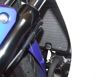 Protection de radiateur noire R&G Racing Honda CBR 125 R 11-17