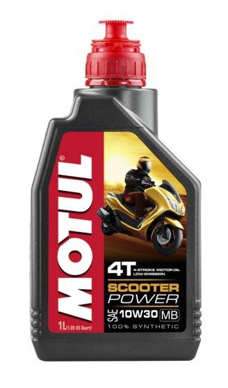 Huile moteur 4T Motul Scooter Power 4T 10W30 MB 1L