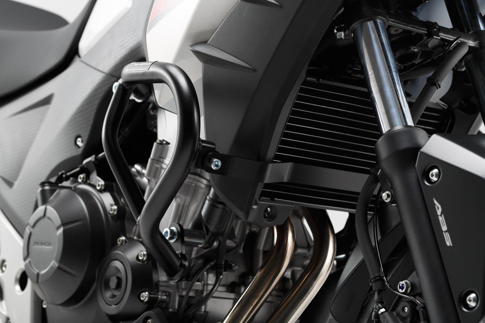 Barres de protection latérale SW-MOTECH noir Honda CB 500 X 13-15