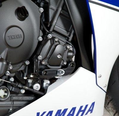 Slider moteur droit R&G Racing noir Yamaha YZF-R1 09-14