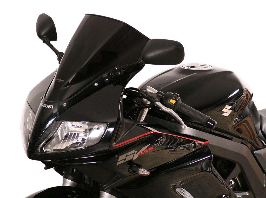 Bulle MRA Racing noire Suzuki SV 650 S 03-14