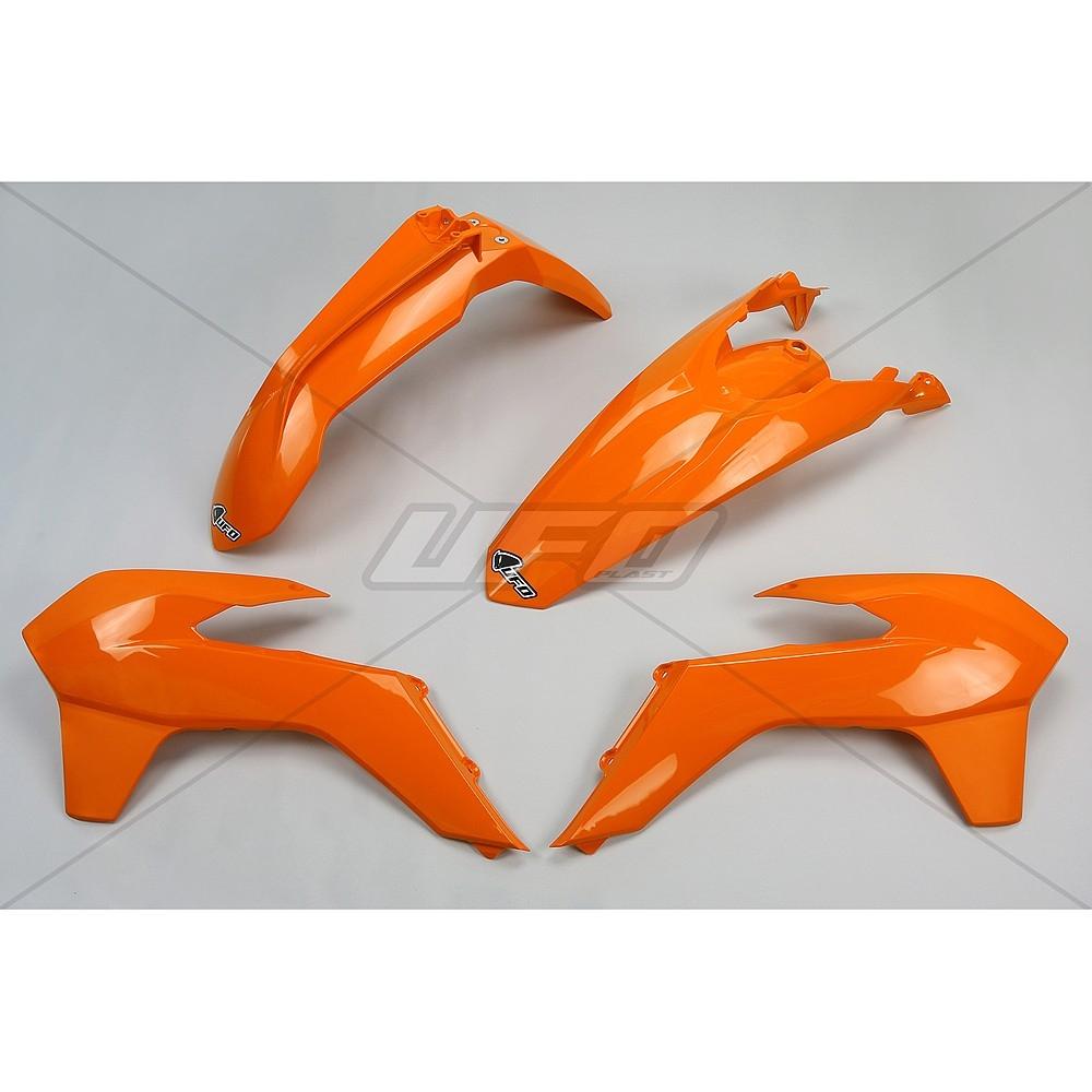 Kit plastique UFO KTM 125 EXC 14-16 orange