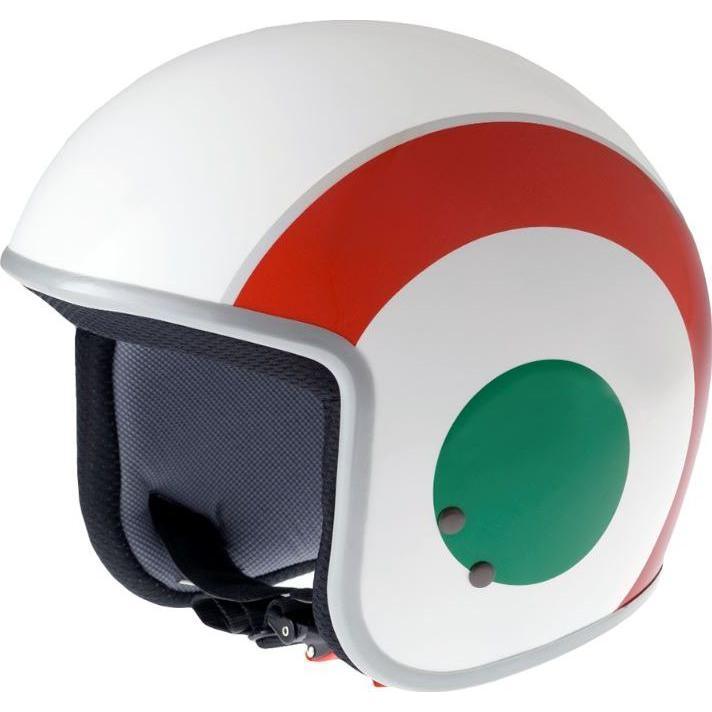 Casque jet enfant Vespa Flag Italy - 50
