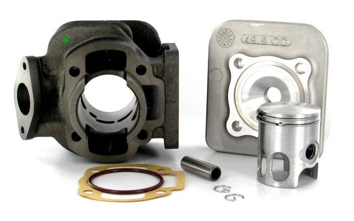 Cylindre culasse D.40 Doppler S1F Fonte Booster/BW'S 50cc