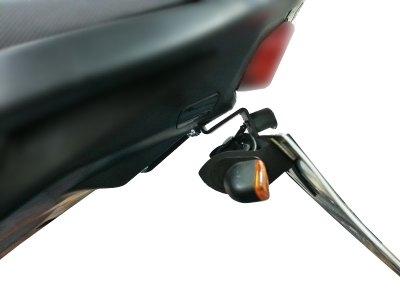 Support de plaque dimmatriculation R&G Racing noir Honda CB 650 F 14-